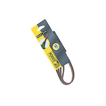 Flexovit Powerfile Sanding Belt 454mmx13mm Extra Coarse 30g (Pack of 4) FLV26437