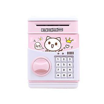 Cartoon Charging Piggy Bank Story Playing Password Box