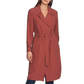 1.State | Twill Tie Waist Trench Coat