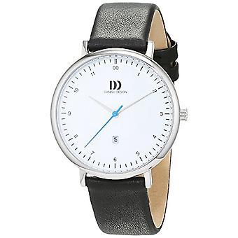 Reloj analógico de diseño danés Mujer de cuarzo con correa de acero inoxidable No.: IV12Q1188