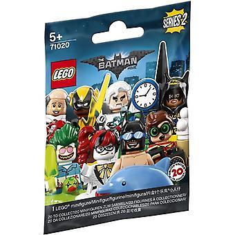 71020 LEGO Mini Figure Batman Series 2 random Set of 1 Mini Figure