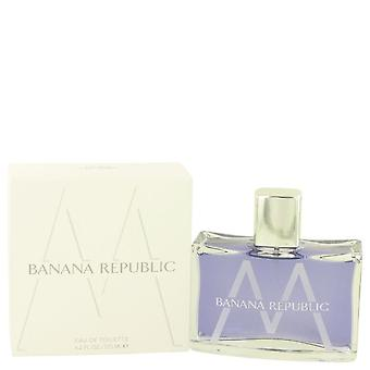 Bananenrepubliek M Eau De Toilette Spray door bananenrepubliek 4.2 oz Eau De Toilette Spray