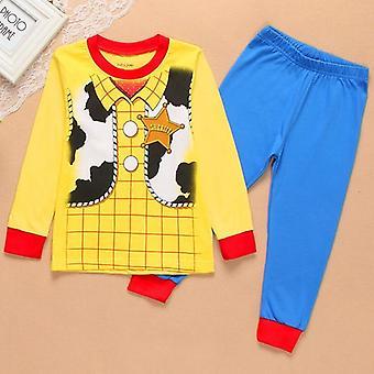 Marvel Kleidung Set Cartoon gedruckt Spielzeug Geschichte Woody Bass gefroren Auto Pijama