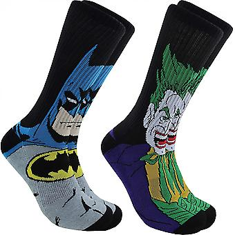Rick og Morty karakter menns mannskap sokker 2 par Pack sko