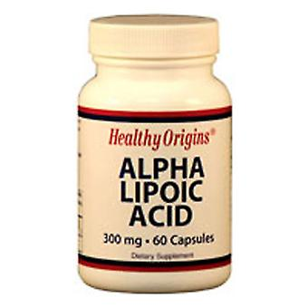Healthy Origins Alpha Lipoic Acid, 300MG, 60 Caps