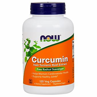 Now Foods Curcumin, 120 Vcaps
