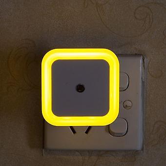 Sensor inalámbrico Led luz nocturna, mini luces de noche cuadradas