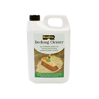 Rustins Decking Cleaner 4 Litre RUSDECL4L