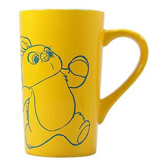 Toy Story Latte Mug Ducky and Bunny Logo new Official Yellow Boxed