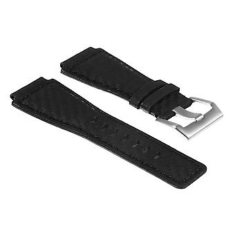 Strapsco dassari bracelet en fibre de carbone pour cloche &ross