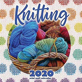 Calendrier mini mural de tricot 2020