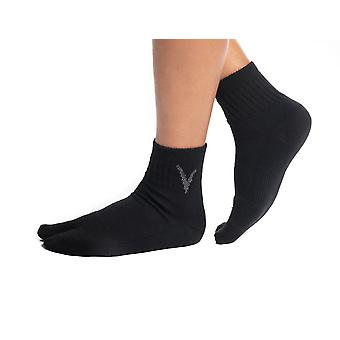 Black Wool Casual  Flip-flop Big Socks