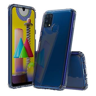 For Galaxy M31 Shockproof Scratchproof TPU + Acrylic Protective Case(Transparent)