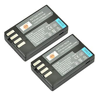 Dste 2x d-li109 li109 baterie reîncărcabilă li-ion pentru pentax k-r kr k2 k2 k-2 k-30 k30