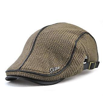 Hochwertige Marke gestrickte Baskenmütze Casquette Homme Planas Snapback Hut