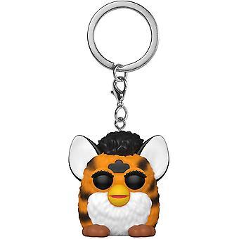 Hasbro Tiger Furby Pocket Pop! Porte-clés