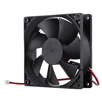 9 inch 9025 2-pin Computer Cooling Fan (Black)