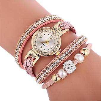 High Quality Beautiful Fashion Women Bracelet Watch Ladies Casual Round Analog