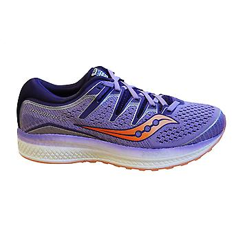 Saucony Triumph Iso 5 Purple Peach Womens Lace Up Running Shoes S10462