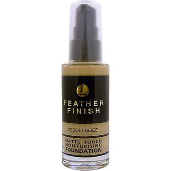 Lentheric Feather Finish Matte Touch Moisturising Foundation 30ml - Soft Beige 02