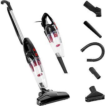 Duronic VC8/BK Stick Vacuum Cleaner | Energy Class A+ | HEPA Filter & Bagless | Black |