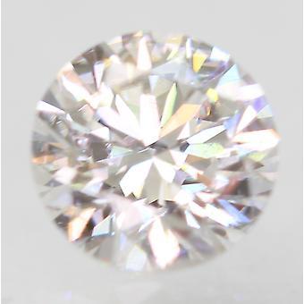 Sertifioitu 0,53 karat D VVS2 pyöreä loistava parannettu luonnollinen löysä timantti 5,12m