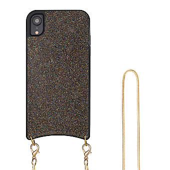 H-basics phone chain for Apple iPhone XR necklace case cover