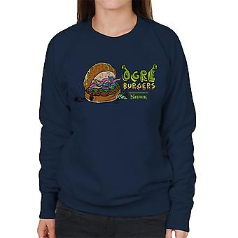 Shrek Ogres Burgers Women's Sweatshirt
