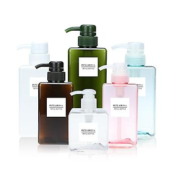 Bärbar resa Badrum Handfat Dusch Gel Shampoo Lotion Flytande Hand TvålPump