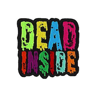 Grindstore Dead Inside Iron On Patch