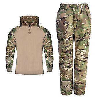 Costume de vêtement de formation de camouflage pour enfants