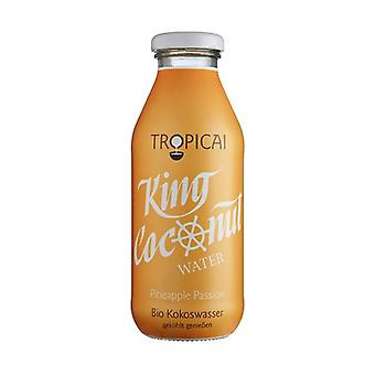 Coco King Pineapple and Passion Fruit Water 350 ml