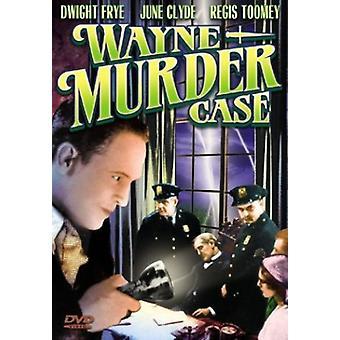 Wayne Murder tapaus [DVD] USA Import