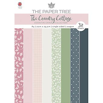 The Paper Tree - The Country Cottage Collection - A4 Essential Colour Card
