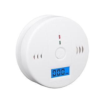 Lcd Co Sensor / Monoxide Poisoning Warning Alarm Detector, Work Alone Built In