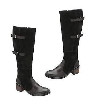 Ravel Mid Calf Boots for Women  Colour Black