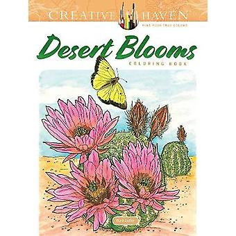 Creative Haven Desert Blooms Coloring Book