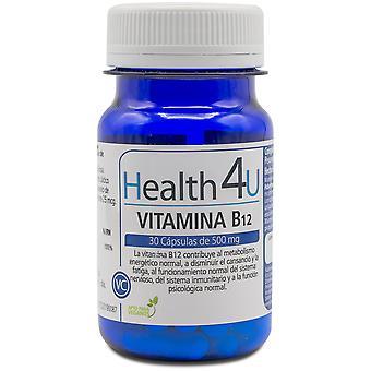 Health 4U Vitamin B12 500 mg 30 Capsules