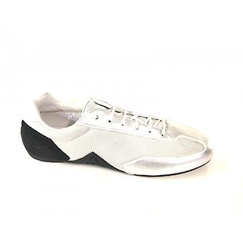 Men's Shoes Sneaker Le Coq Sportif Nylon Silver Black Series 6