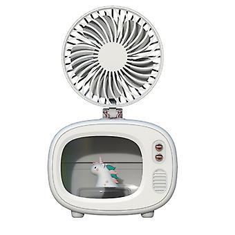 Tragbare TV-Form Luftbefeuchter, Usb Cool Mist Luftbefeuchter Klimaanlagen mit Lüfter