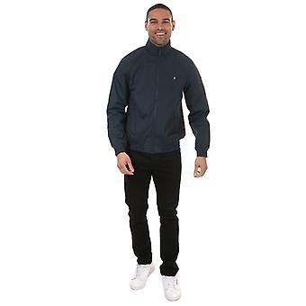 Men's Farah Flint Blouson Jacket in Blue