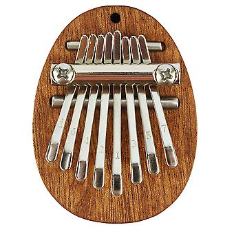 8 Keys Kalimba Thumb Piano Wooden Musical Instrument For Beginners
