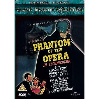 Das Phantom der Oper 1943 DVD