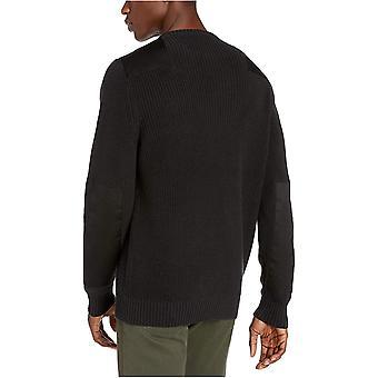 Brand - Goodthreads Men's Soft Cotton Military Sweater