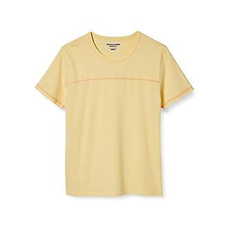 JACK &JONES Jorremi SS Tee Crew Neck Tc120 Camiseta, Flan, XXL Hombre
