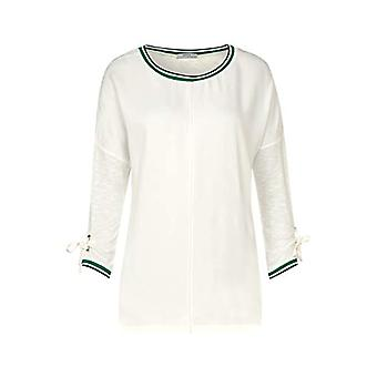 Cecil 314543 T-Shirt, Pure Off White, Medium Woman