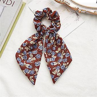 Hair ties women's rose hair ring hair accessories