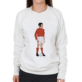 Action Man Footballer Women's Sweatshirt