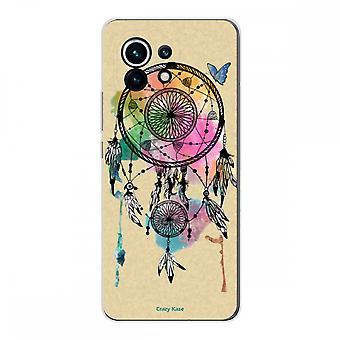 Hülle für Xiaomi Mi 11 Weich Silikon 1 Mm, Greift Traum Und Schmetterling