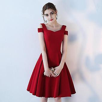 Ladies Short Elegant Evening Party Dress